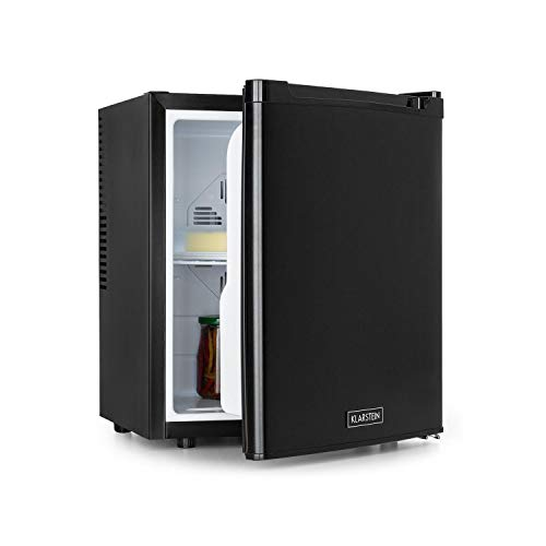 Klarstein CoolTour 38 Mini-Kühlschrank, 38 Liter, 12 V und 230 V, Kühlbereich: 5-12 °C, Camping, LKW, Auto, inklusive Zigarettenanzünderkabel, Minibar, Getränkekühlschrank, schwarz