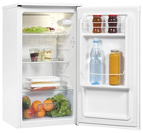 Exquisit Kühlschrank KS85-V-090F weissPV | Vollraum Kühlschrank | 82 L Volumen | Weiß
