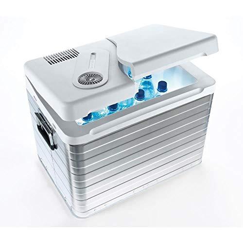 Mobicool Q40 AC/DC - Tragbare Elektrische Alu-Kühlbox, 39 Liter, 12 V und 230 V für Auto, Lkw, Boot, Reisemobil und Steckdose, Aluminium-Gehäuse