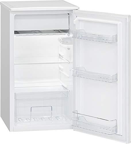 Bomann KS 7230.1 Kühlschrank mit Eisfach/Kühlen 83 L/Eisfach 8 L / 107 kWh/weiß