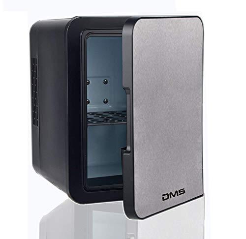 DMS Mini Kühlschrank Minibar Kühlbox Thermobox Kühltruhe 12/230V Edelstahl 4 L KB-4